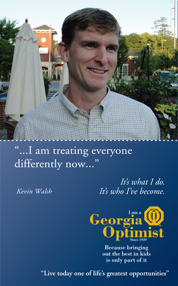 Kevin Walsh, Buckhead Optimist